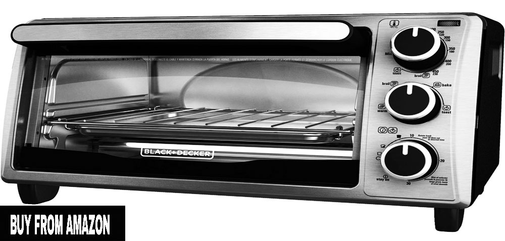 BLACK+DECKER – Best Small Toaster Oven