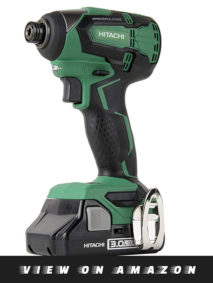 Hitachi WH18DGL – Best Impact Driver For Woodworking