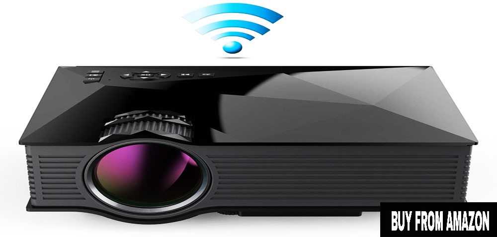 ERISAN 1200 Lumens – Best LCD Mini Projector