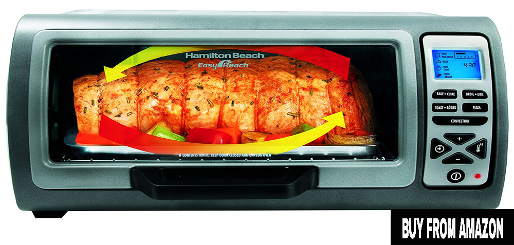 Hamilton Beach Easy Reach Oven – Best Toaster Oven Under $50