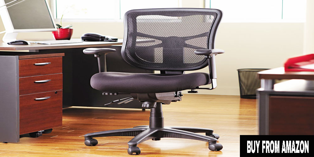 Alera Elusion Series Mesh Mid-Back Swivel Chair – Best Office Chair 2017