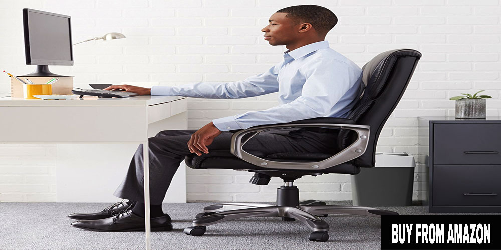 High-Back Executive Chair – Best Chairs For Back Pain At Home