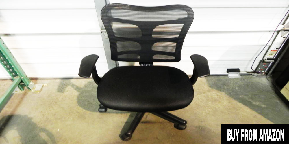 Mid-Back Black Mesh Swivel Task – Best Office Chair Under 150