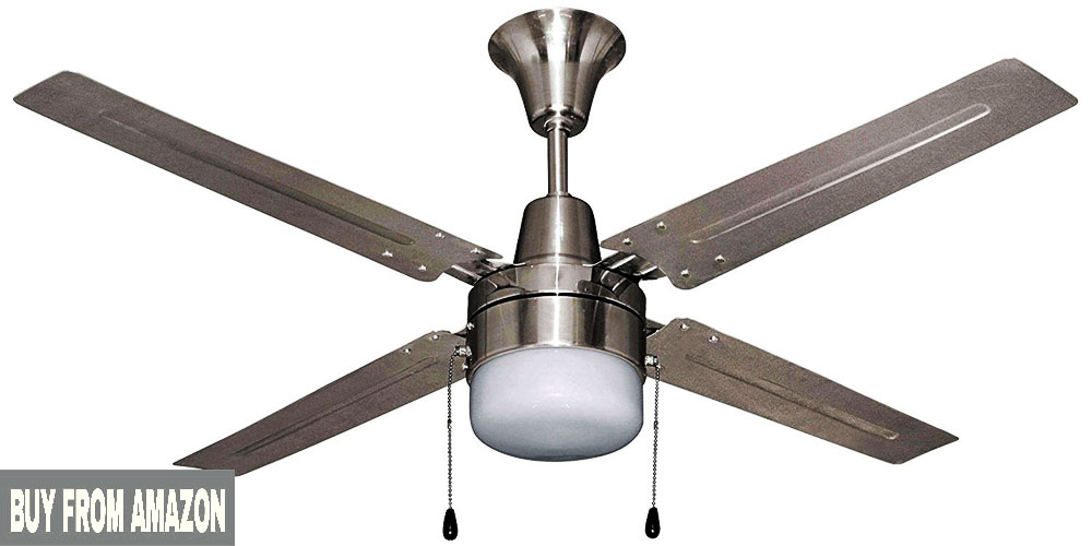 Best Designer Ceiling Fans With Lights Litex E-UB48BC4C1 Urbana 48 Inch