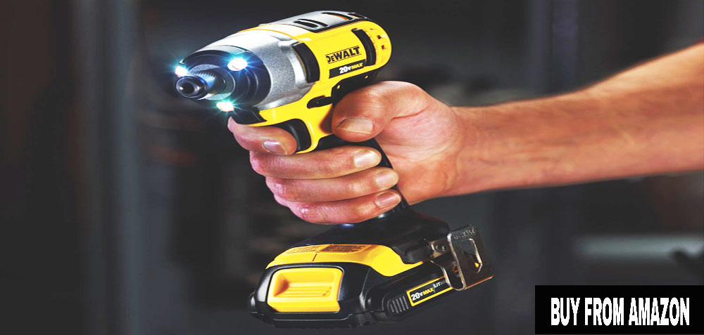 DEWALT DCF885C1 - Impact Screwdriver Where You Hit With Hammer