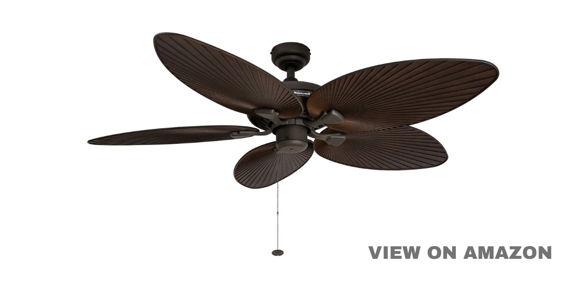 Best Ceiling Fans For Large Rooms – Palm Island 52-Inch