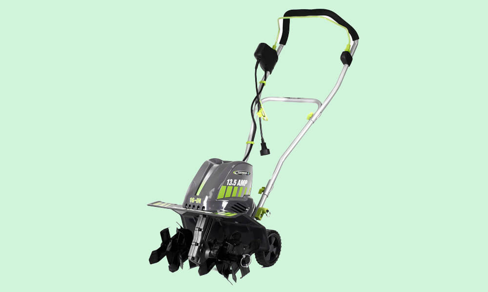 Best Cheap Electric Tillers - Earthwise TC70016