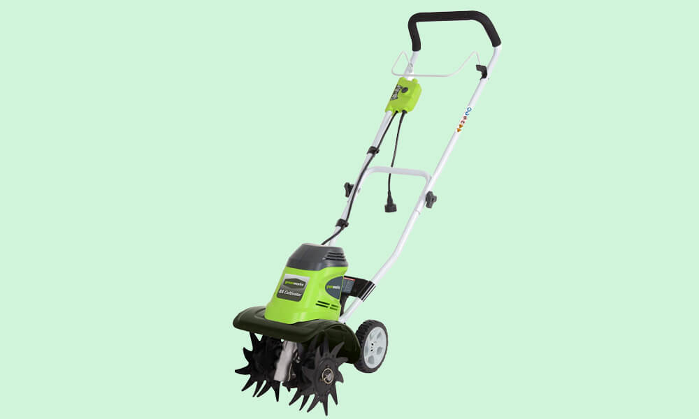 Best Cordless Electric Tiller - Greenworks 10-inch 40 v