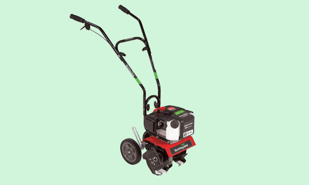 Best Electric Tiller Cultivator - Earthquake MC43 mini cultivato