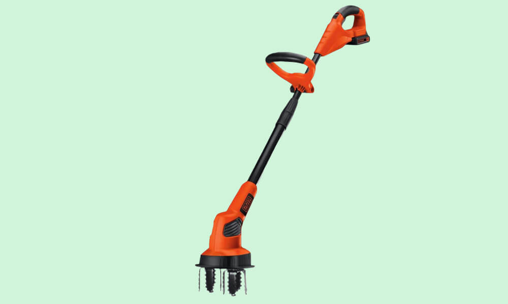 Best Small Electric Garden Tiller - Black and Decker LGC 120