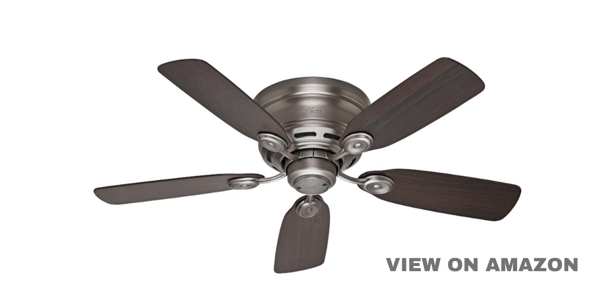 Best Ceiling Fans Without Lights – Indoor Low Profile IV Ceiling Fan
