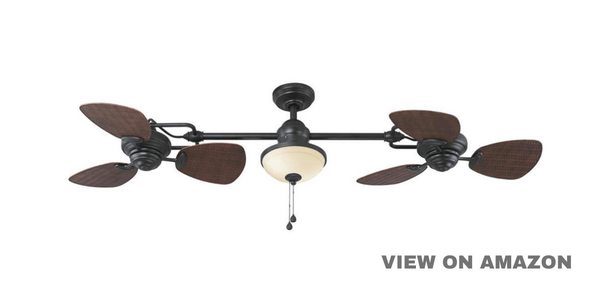Best Deals On Ceiling Fans – Twin Breeze Ii 74-in Oil-rubbed Bronze