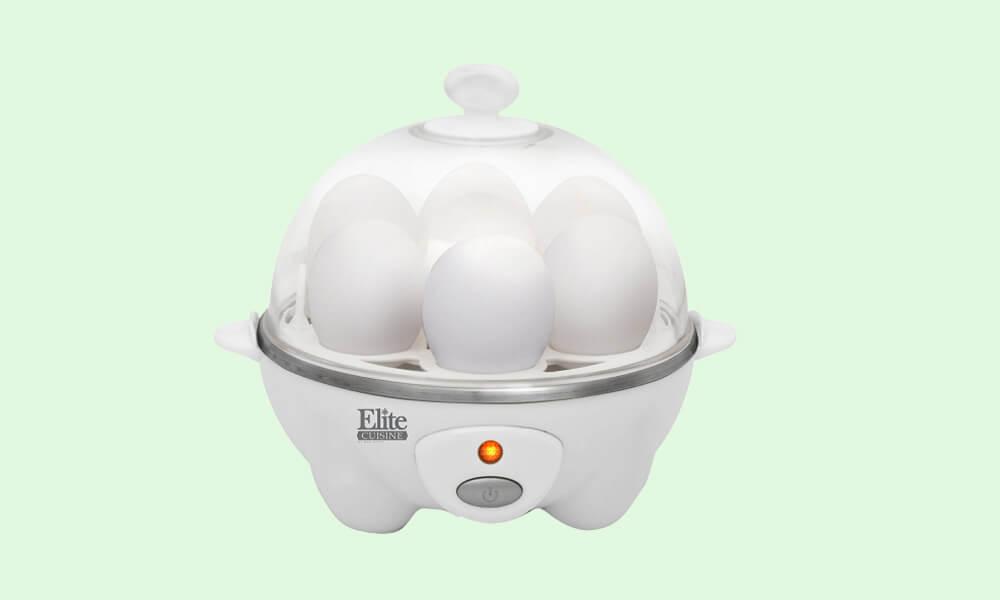 Elite Cuisine Maxi-Matic EGC-007 Easy Electric Egg Poacher - best egg cooker 2020