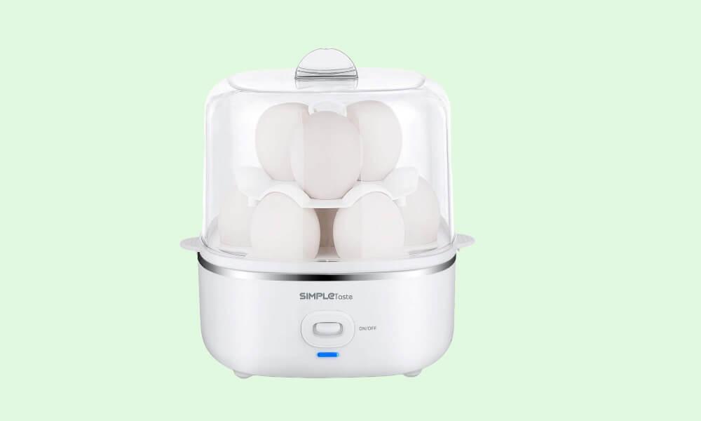 SimpleTaste Large Steamer Automatic Egg Cooker - best egg cooker for beginners