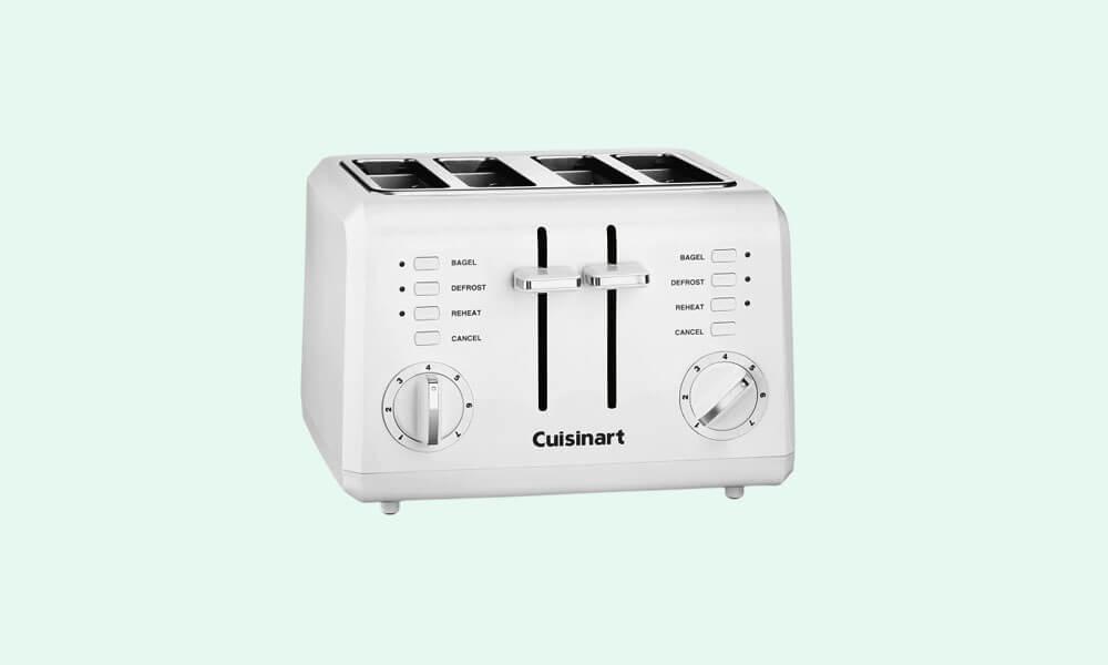 Best 4 Slice Compact Plastic Toaster