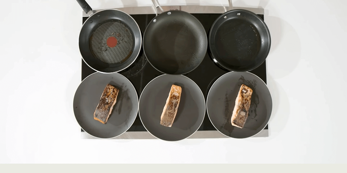 How We Tested the Nonstick Frying Pans