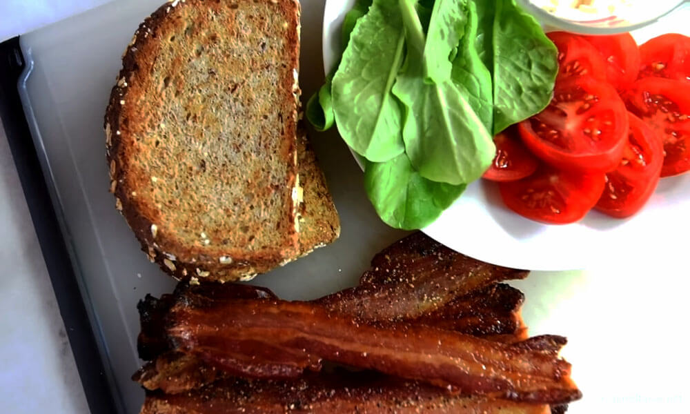 Nutrition Fact of Bacon
