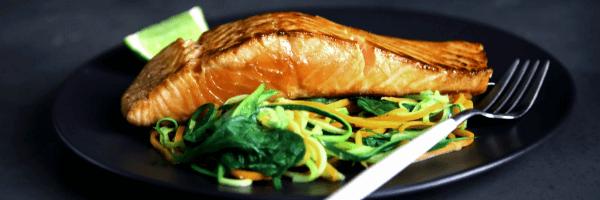 Grill salmon steak recipe