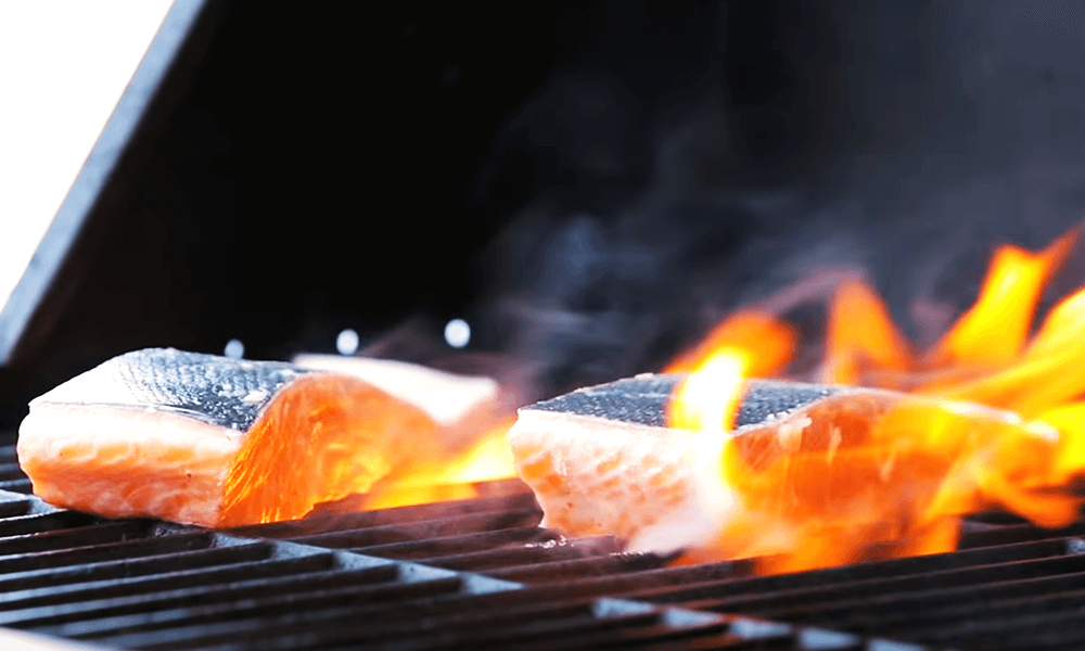 How To Grill Salmon Steaks With Skin